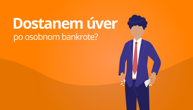 Dostanem úver po osobnom bankrote?
