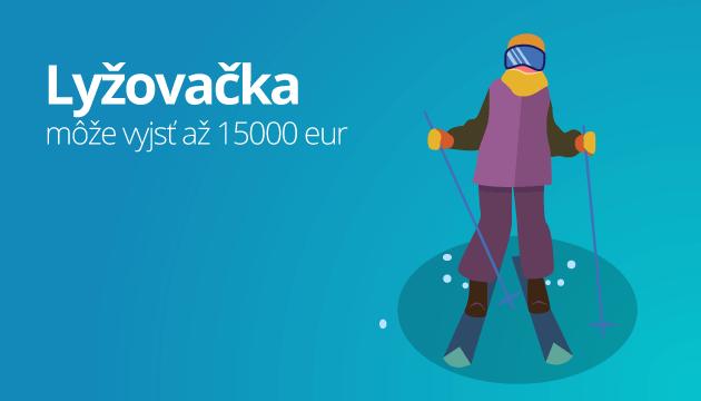 Lyžovačka bez poistenia vás môže vyjsť až na 15000 eur
