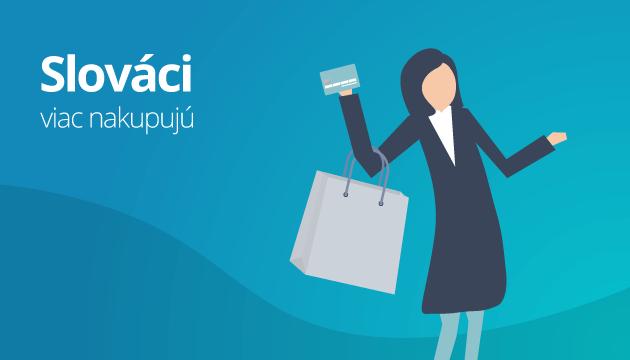 Slováci sú stále viac ochotní nakupovať